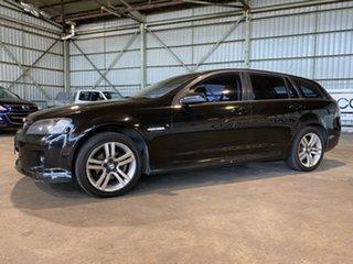 2009 Holden Commodore VE MY09.5 SV6 Sportwagon Black 5 Speed Sports Automatic Wagon.
