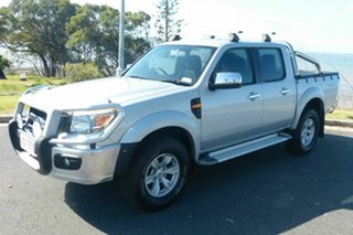 2011 Ford Ranger PK XLT Crew Cab Silver 5 Speed Manual Utility