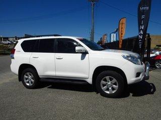 2012 Toyota Landcruiser Prado KDJ150R 11 Upgrade GXL (4x4) White 5 Speed Sequential Auto Wagon.