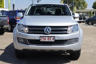 2015 Volkswagen Amarok 2H MY16 TDI420 4Motion Perm Highline Reflex Silver 8 Speed Automatic Utility.
