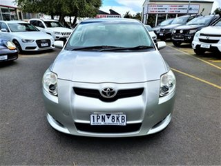 2009 Toyota Corolla ZRE152R Edge Silver 4 Speed Automatic Hatchback