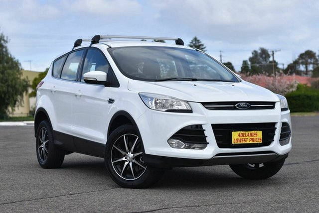 Used Ford Kuga TF MY15 Ambiente 2WD Enfield, 2014 Ford Kuga TF MY15 Ambiente 2WD White 6 Speed Sports Automatic Wagon