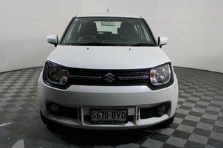 2017 Suzuki Ignis MF GL Pure White 1 Speed Constant Variable Hatchback.
