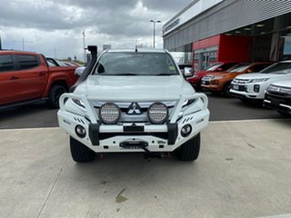 2021 Mitsubishi Triton MR MY21 GLS Double Cab White 6 Speed Sports Automatic Utility.