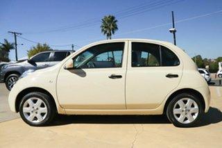 2008 Nissan Micra K12 Gold 4 Speed Automatic Hatchback.