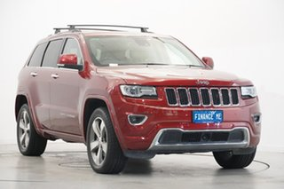 2013 Jeep Grand Cherokee WK MY2014 Overland Red 8 Speed Sports Automatic Wagon
