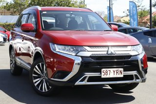 2019 Mitsubishi Outlander ZL MY19 ES 2WD Red 6 Speed Constant Variable Wagon.