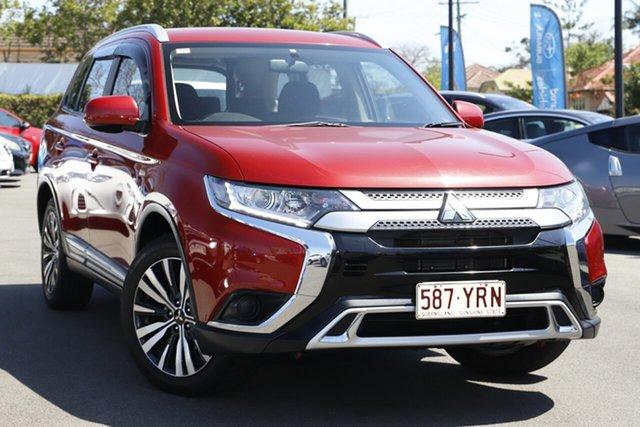 Used Mitsubishi Outlander ZL MY19 ES 2WD Mount Gravatt, 2019 Mitsubishi Outlander ZL MY19 ES 2WD Red 6 Speed Constant Variable Wagon