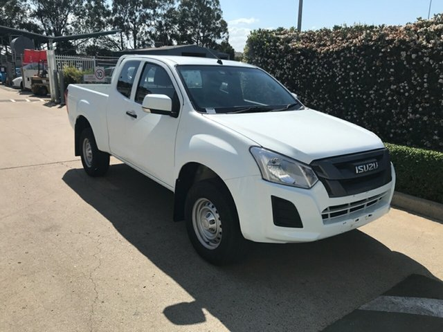 Used Isuzu D-MAX MY17 SX Space Cab 4x2 High Ride Acacia Ridge, 2017 Isuzu D-MAX MY17 SX Space Cab 4x2 High Ride White 6 speed Automatic Utility