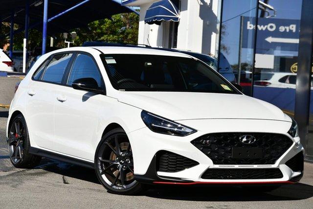 New Hyundai i30 Pde.v4 MY22 N Victoria Park, 2021 Hyundai i30 Pde.v4 MY22 N Polar White 6 Speed Manual Hatchback