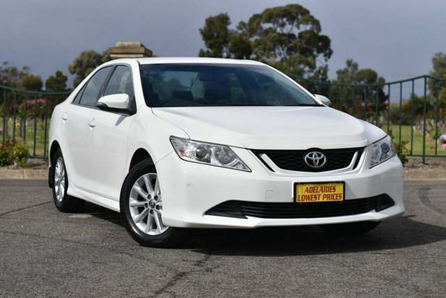 Used Toyota Aurion GSV50R AT-X Enfield, 2015 Toyota Aurion GSV50R AT-X White 6 Speed Sports Automatic Sedan