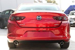 2021 Mazda 3 BP2SLA G25 SKYACTIV-Drive Evolve Red 6 Speed Sports Automatic Sedan.