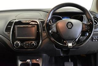 2014 Renault Captur J87 Dynamique EDC Orange Body White Ro 6 Speed Sports Automatic Dual Clutch
