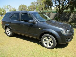 2010 Ford Territory SY MkII TS Grey 4 Speed Sports Automatic Wagon.