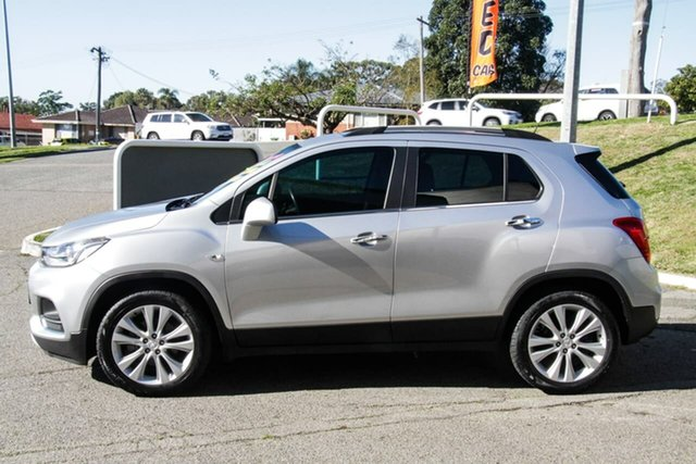 Used Holden Trax TJ MY17 LT Melville, 2016 Holden Trax TJ MY17 LT Silver 6 Speed Automatic Wagon