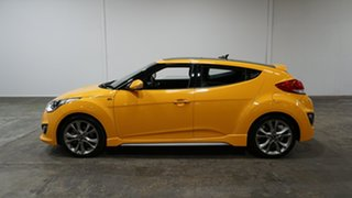 2017 Hyundai Veloster FS5 Series II SR Coupe Turbo Yellow 6 Speed Manual Hatchback
