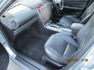 2006 Mazda 6 GG 05 Upgrade Luxury Silver 5 Speed Auto Activematic Hatchback