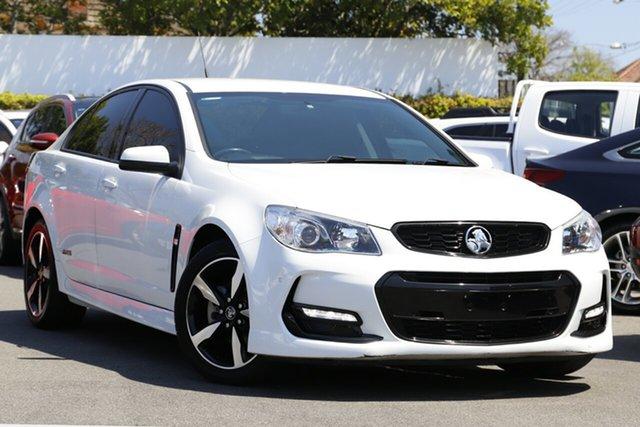 Used Holden Commodore VF II MY16 SV6 Mount Gravatt, 2016 Holden Commodore VF II MY16 SV6 White 6 Speed Sports Automatic Sedan