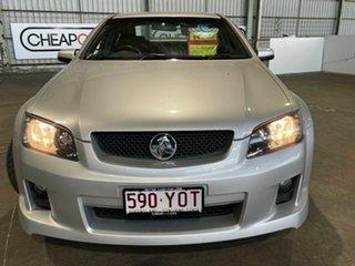 2009 Holden Commodore VE MY09.5 SV6 Silver 6 Speed Manual Sedan.
