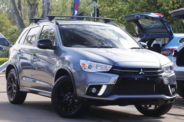 Used Mitsubishi ASX XC MY19 Black Edition 2WD Toowoomba, 2019 Mitsubishi ASX XC MY19 Black Edition 2WD Grey 1 Speed Constant Variable Wagon