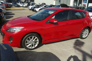 2010 Mazda 3 BL10L1 SP25 Activematic Red 5 Speed Sports Automatic Hatchback.