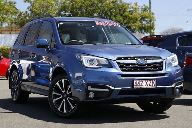 Used Subaru Forester S4 MY18 2.5i-S CVT AWD Mount Gravatt, 2018 Subaru Forester S4 MY18 2.5i-S CVT AWD Blue 6 Speed Constant Variable Wagon