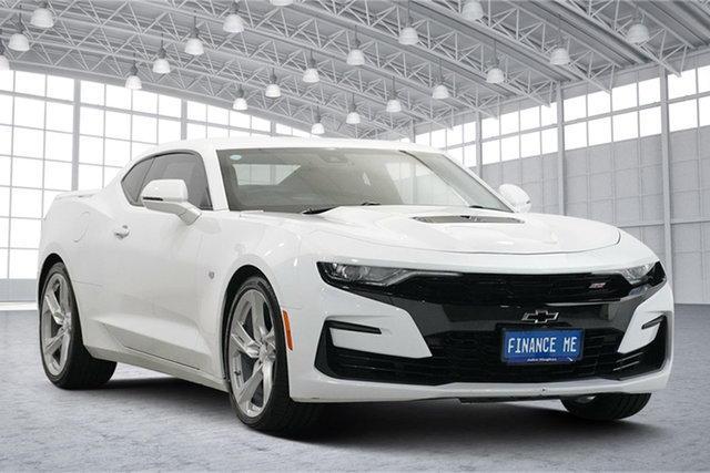 Used Chevrolet Camaro MY18 2SS Victoria Park, 2019 Chevrolet Camaro MY18 2SS White 8 Speed Sports Automatic Coupe