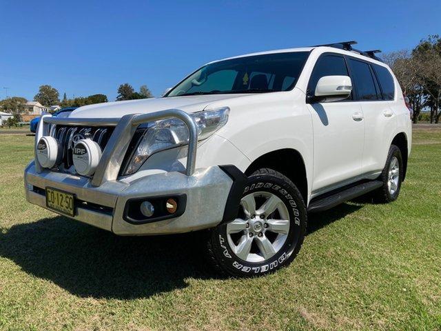 Used Toyota Landcruiser Prado GDJ150R MY16 GXL (4x4) South Grafton, 2016 Toyota Landcruiser Prado GDJ150R MY16 GXL (4x4) Glacier White 6 Speed Automatic Wagon