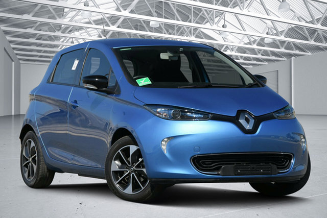 Used Renault ZOE Intens Eagle Farm, 2019 Renault ZOE Intens Blue 1 Speed Automatic Hatchback