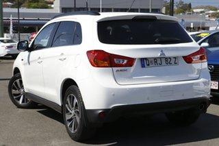 2014 Mitsubishi ASX XB MY14 2WD White 6 Speed Constant Variable Wagon.