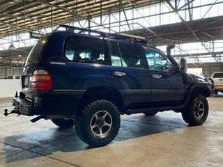 1999 Toyota Landcruiser FZJ105R GXL Blue 5 Speed Manual Wagon