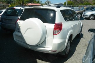 2006 Toyota RAV4 ACA33R Cruiser White 5 Speed Manual Wagon.
