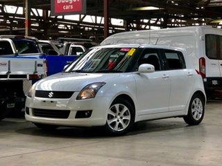 2010 Suzuki Swift RS415 RE4 White 5 Speed Manual Hatchback.