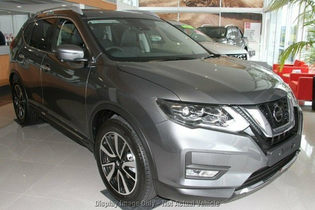 New Nissan X-Trail T32 MY21 Ti X-tronic 4WD Castle Hill, 2021 Nissan X-Trail T32 MY21 Ti X-tronic 4WD Gun Metallic 7 Speed Constant Variable Wagon