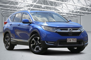 2018 Honda CR-V MY18 VTi-LX (AWD) Blue Continuous Variable Wagon.