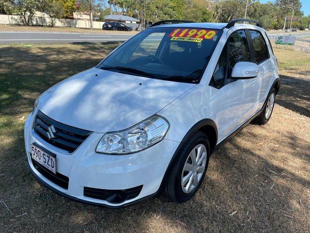 Used Suzuki SX4 GYA MY13 Crossover Clontarf, 2013 Suzuki SX4 GYA MY13 Crossover 6 Speed Constant Variable Hatchback