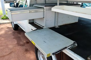 2014 Mitsubishi Triton MN MY15 GLX Club Cab White 5 Speed Manual Cab Chassis.