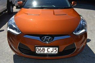 2013 Hyundai Veloster FS MY13 SR Turbo Orange 6 Speed Automatic Coupe