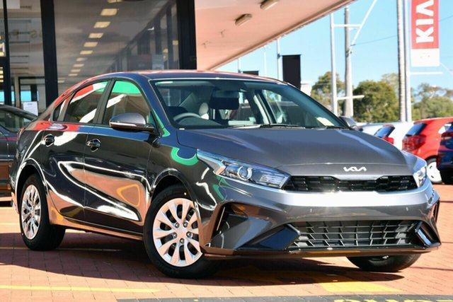 New Kia Cerato BD MY22 S Toowoomba, 2021 Kia Cerato BD MY22 S Steel Grey 6 Speed Sports Automatic Sedan