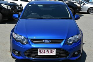 2014 Ford Falcon FG MK2 XR6 Blue 6 Speed Auto Seq Sportshift Sedan.