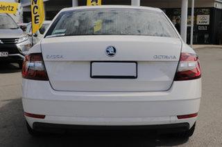 2019 Skoda Octavia NE MY19 110TSI Sedan DSG Moon White 7 Speed Sports Automatic Dual Clutch Liftback