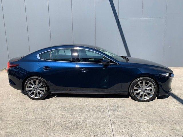 New Mazda 3 BP2SLA G25 SKYACTIV-Drive Astina Alexandria, 2021 Mazda 3 BP2SLA G25 SKYACTIV-Drive Astina Deep Crystal Blue 6 Speed Sports Automatic Sedan
