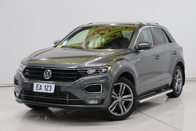 Used Volkswagen T-ROC A1 MY20 140TSI DSG 4MOTION Sport Brooklyn, 2020 Volkswagen T-ROC A1 MY20 140TSI DSG 4MOTION Sport Grey 7 Speed Sports Automatic Dual Clutch