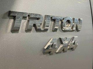 2012 Mitsubishi Triton MN MY12 GLX Silver 5 Speed Manual Utility