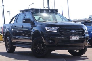 2019 Ford Ranger PX MkIII 2019.00MY XLT Black 10 Speed Sports Automatic Double Cab Pick Up.