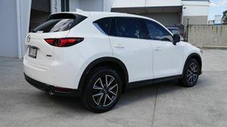 2017 Mazda CX-5 KF4WLA Akera SKYACTIV-Drive i-ACTIV AWD White 6 Speed Sports Automatic Wagon