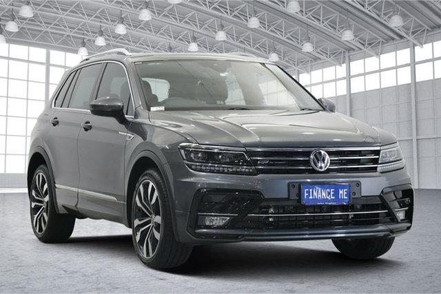 Used Volkswagen Tiguan 5N MY19.5 162TSI DSG 4MOTION Highline Victoria Park, 2019 Volkswagen Tiguan 5N MY19.5 162TSI DSG 4MOTION Highline Graphite 7 Speed