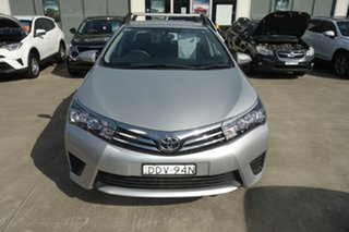 2016 Toyota Corolla ZRE172R Ascent S-CVT Silver 7 Speed Constant Variable Sedan.