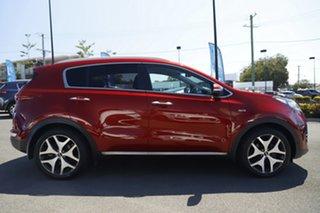2016 Kia Sportage QL MY16 Platinum AWD Red 6 Speed Sports Automatic Wagon