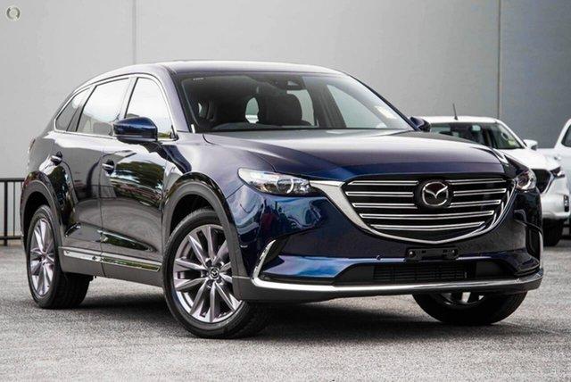 New Mazda CX-9 TC GT SKYACTIV-Drive Waitara, 2021 Mazda CX-9 TC GT SKYACTIV-Drive Blue 6 Speed Sports Automatic Wagon